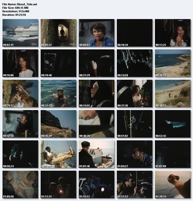 Blood Tide (1982) (aka Demon Island) (James Earl Jones!) preview 1