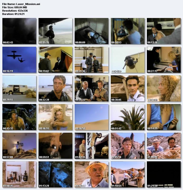 Laser Mission (1990) (Brandon Lee) preview 2